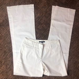 Theory White Flare Pants Sz 00